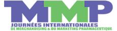 Journées internationales du merchandising et marketing pharmaceutique Logo